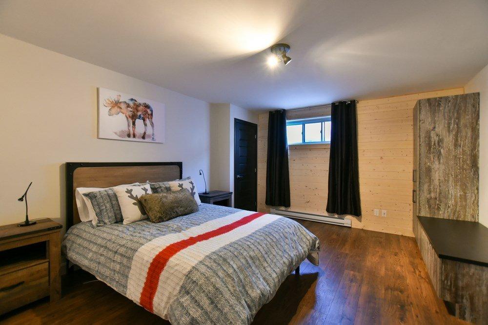 Chalet en bois rond Le Panache - Chambre-7