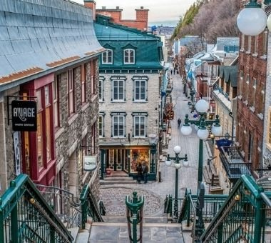 5 spots photos incontournables dans le Vieux-Québec