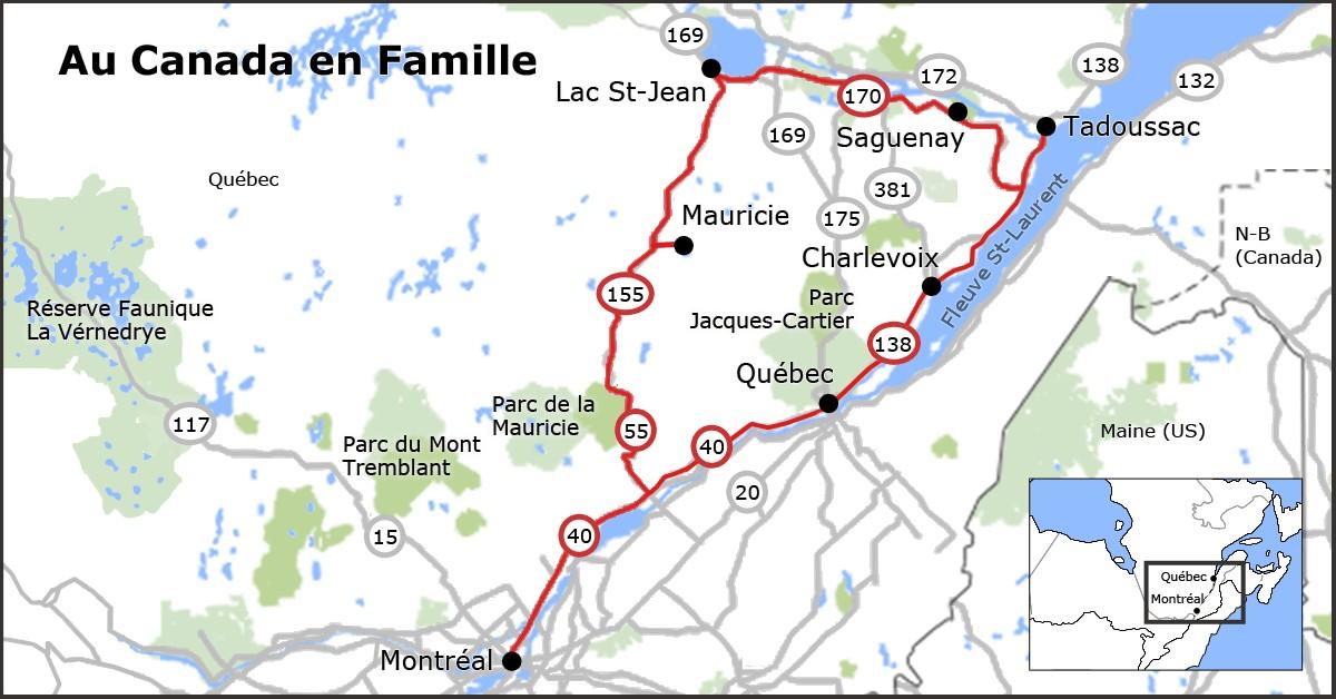 Vacances En Famille Au Qu 233 Bec Road Trip De 8 15 Et 21 Jours
