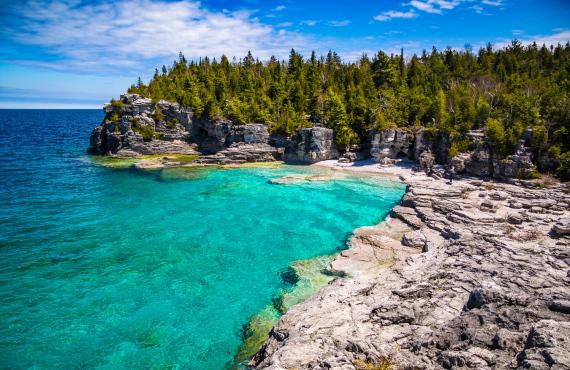 Indian Head Cove, Péninsule de Bruce