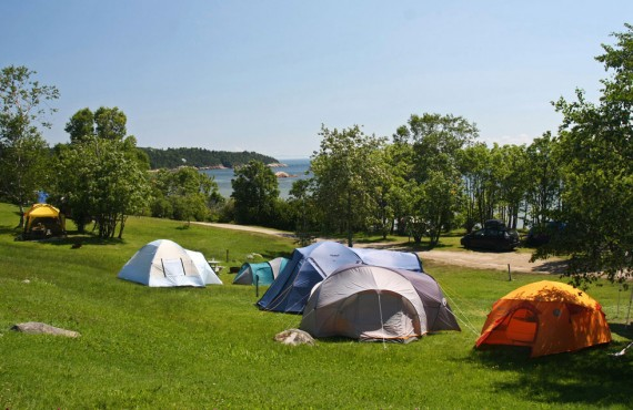 Camping Bon-Désir - Grandes-Bergeronnes, QC