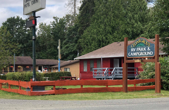 Cedar Grove Campground, Qualicum Beach, BC