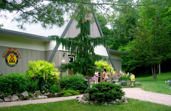 Camping Ivy Lea KOA - Lansdowne, Ontario