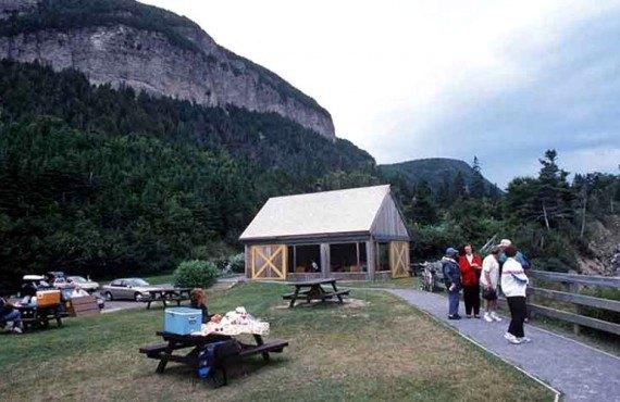 Camping dans le Parc Forillon