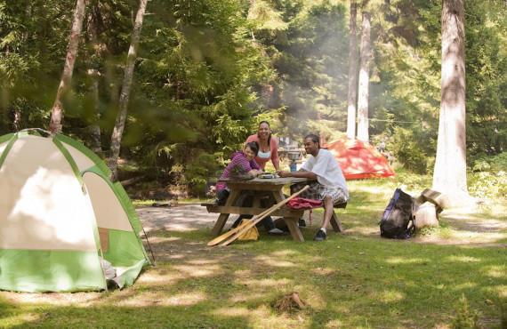 Camping du Parc National Fundy, NB