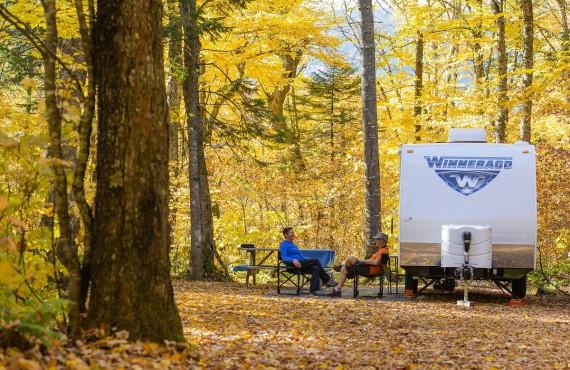 Camping parc Jacques-Cartier