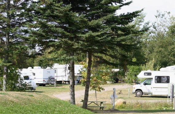 Rivière-Ouelle campground, Qc, Canada