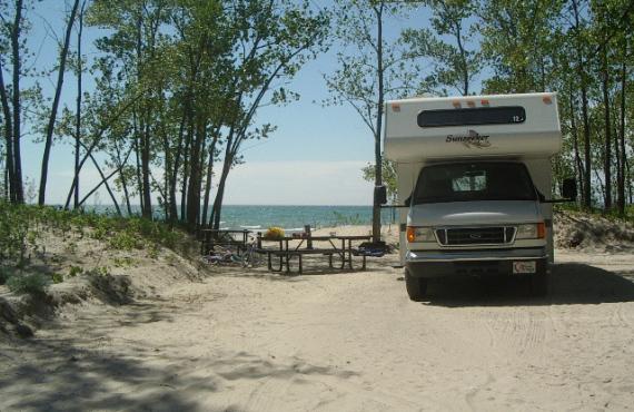 Sandbanks Campground, Ontario, Canada