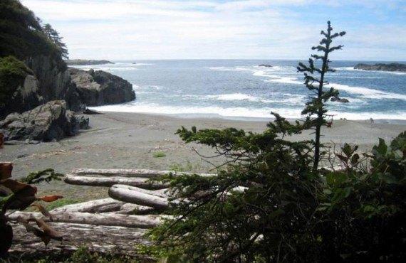 Camping Wya Point - Vue sur l'océan