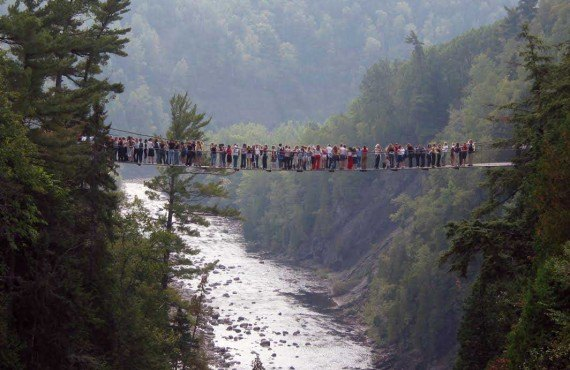 Canyon Ste-Anne, Québec