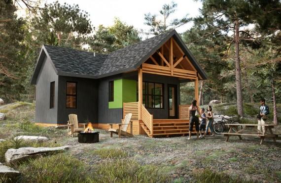 Cabin in Saguenay Park