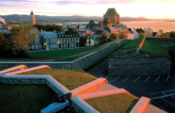 The Quebec Citadel and Château Frontenac