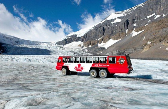 Excursion au glacier Athabasca