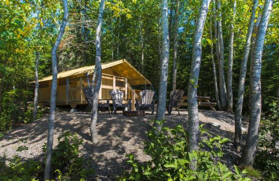 Tente Prêt-à-Camper, Réserve Faunique La Vérendrye