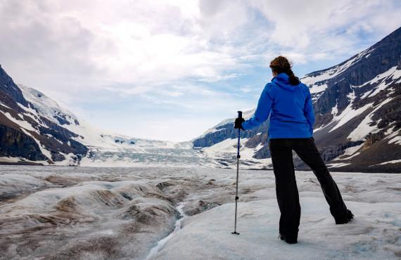 Athabasca Glacier icewalk, Jasper, AB