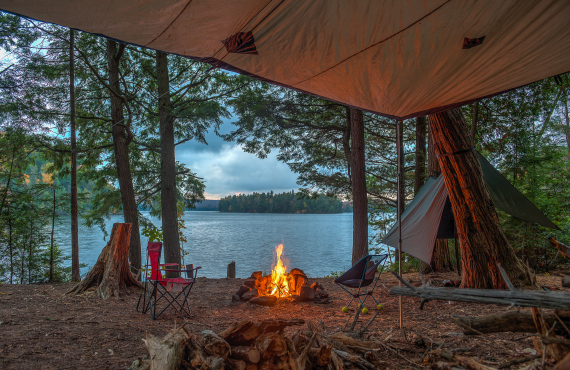 site camping