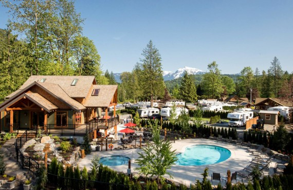 Springs RV Resort - Harrison Hot Springs, BC