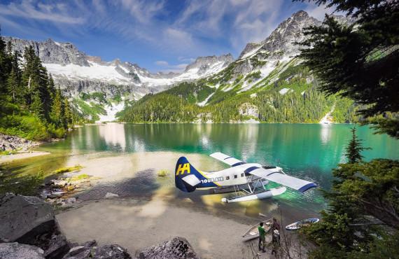 Alpine lake, BC