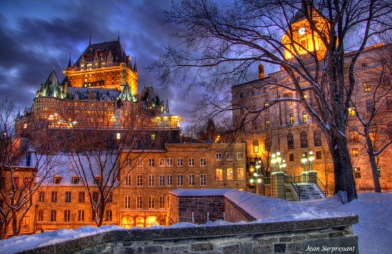 Chateau Frontenac, Québec, Qc, Canada