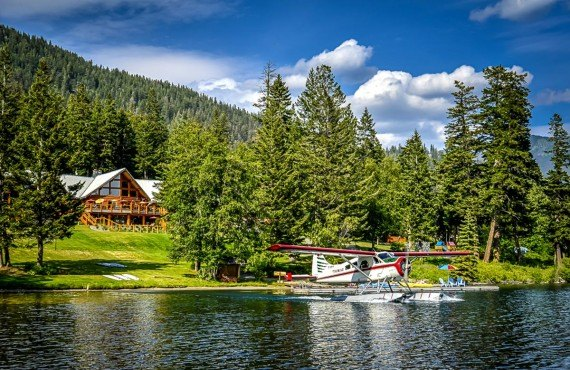 Tyax Resort, Gold Bridge, BC