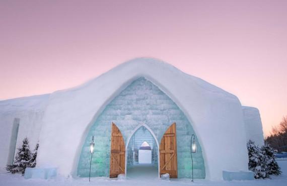 Hôtel de glace, Valcartier, QC