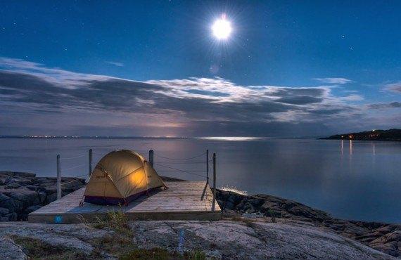Nuit à Mer et Monde