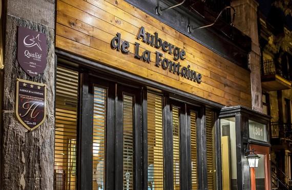 Auberge de La Fontaine - Montréal, QCe