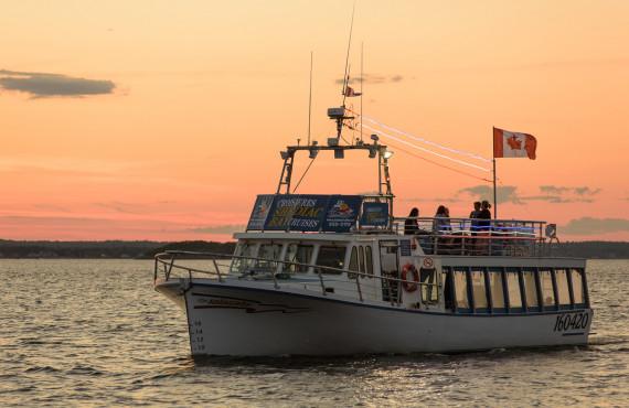 Croisiere et homard, Baie de Shediac, NB