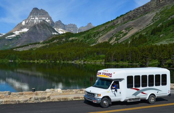 Guided tour of Glacier Park, West Glacier, MT
