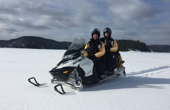 Excursion en motoneige