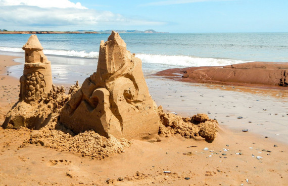 Sculptures sur sable