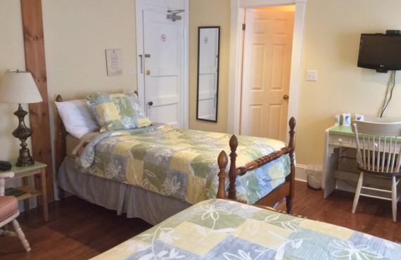 Auberge Le Vieux Presbytère - Chambre 2 lits