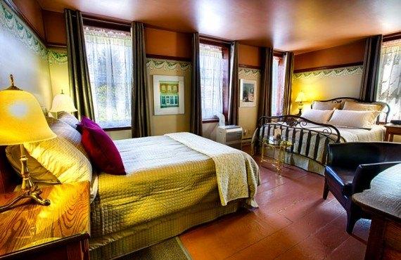 Auberge la Muse - chambre 2 lits