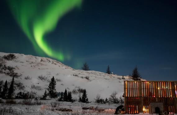 Aurores boréales - Kuujjuaq
