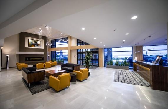 Best Western - Hôtel Lévesque - Réception