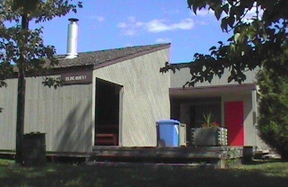 Camping Amqui - Bloc sanitaire