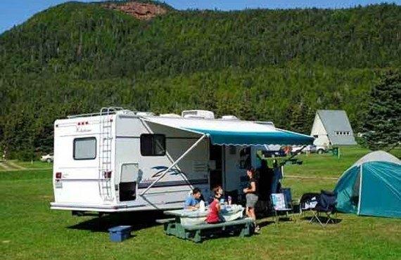 Camping Baie de Percé, Percé, QC