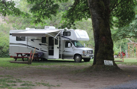 Site de camping-car