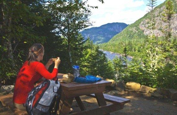 Site de camping - Parc des Hautes-Gorges