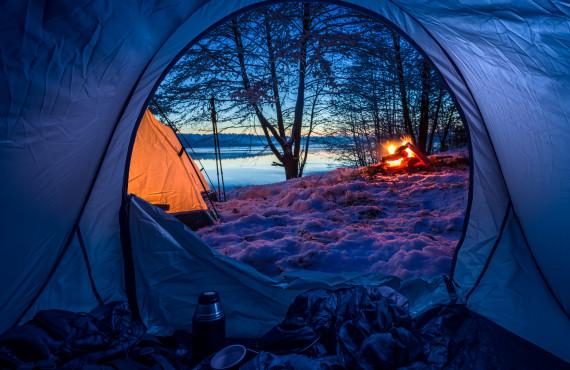 Confortable dans votre tente
