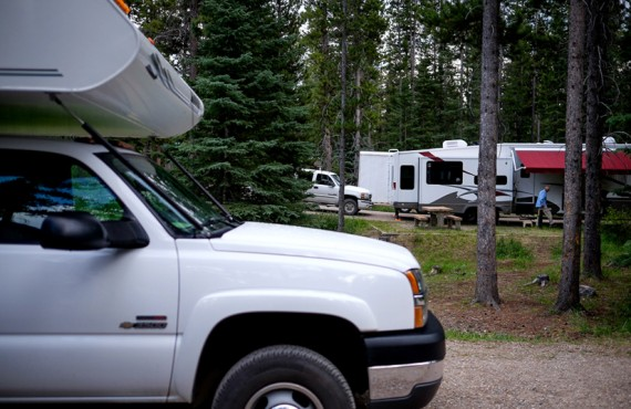 Camping du Lac Louise - Camping-car