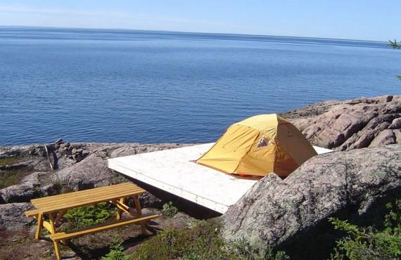 Camping Mer et Monde - Les Bergeronnes, Qc