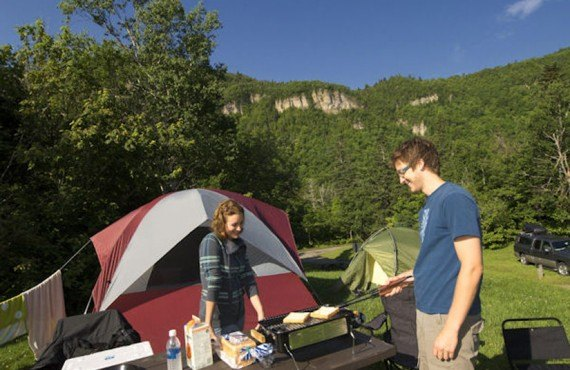 Camping - Parc Forillon