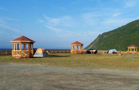 Camping Parc et Mer Mont-Louis - Gazébos sur le site