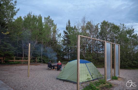Site de tente
