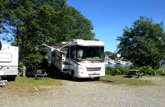 Camping Ucluelet - Emplacement pour camping-car