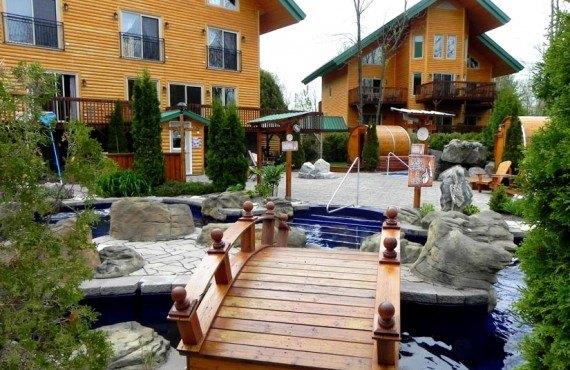 Chalets & Spa Lac St-Jean
