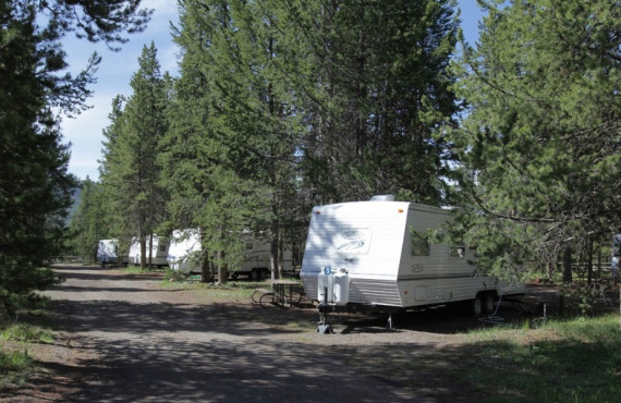 Camping Colter Bay RV Park, Moran, WY
