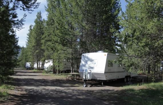 Camping Colter Bay RV Park, Moran, WY