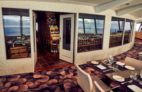 Cellier du restaurant 360